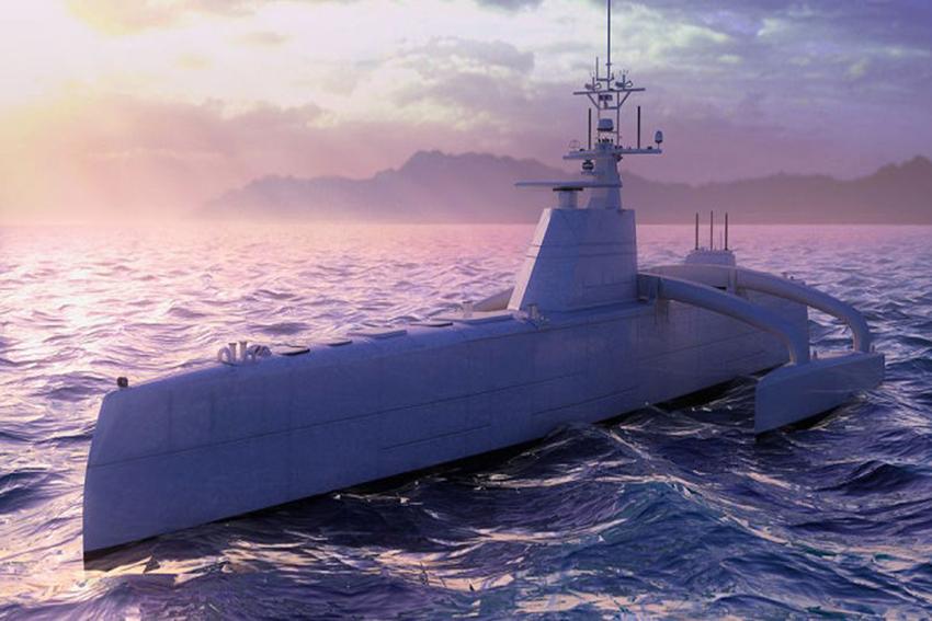 Tàu ngầm không người lái Darpa.