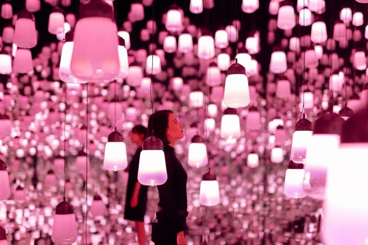 """Lạc trong biển màu hồng vô tận của tác phẩm nghệ thuật sắp đặt """"Hoa anh đào"""" - 04"""