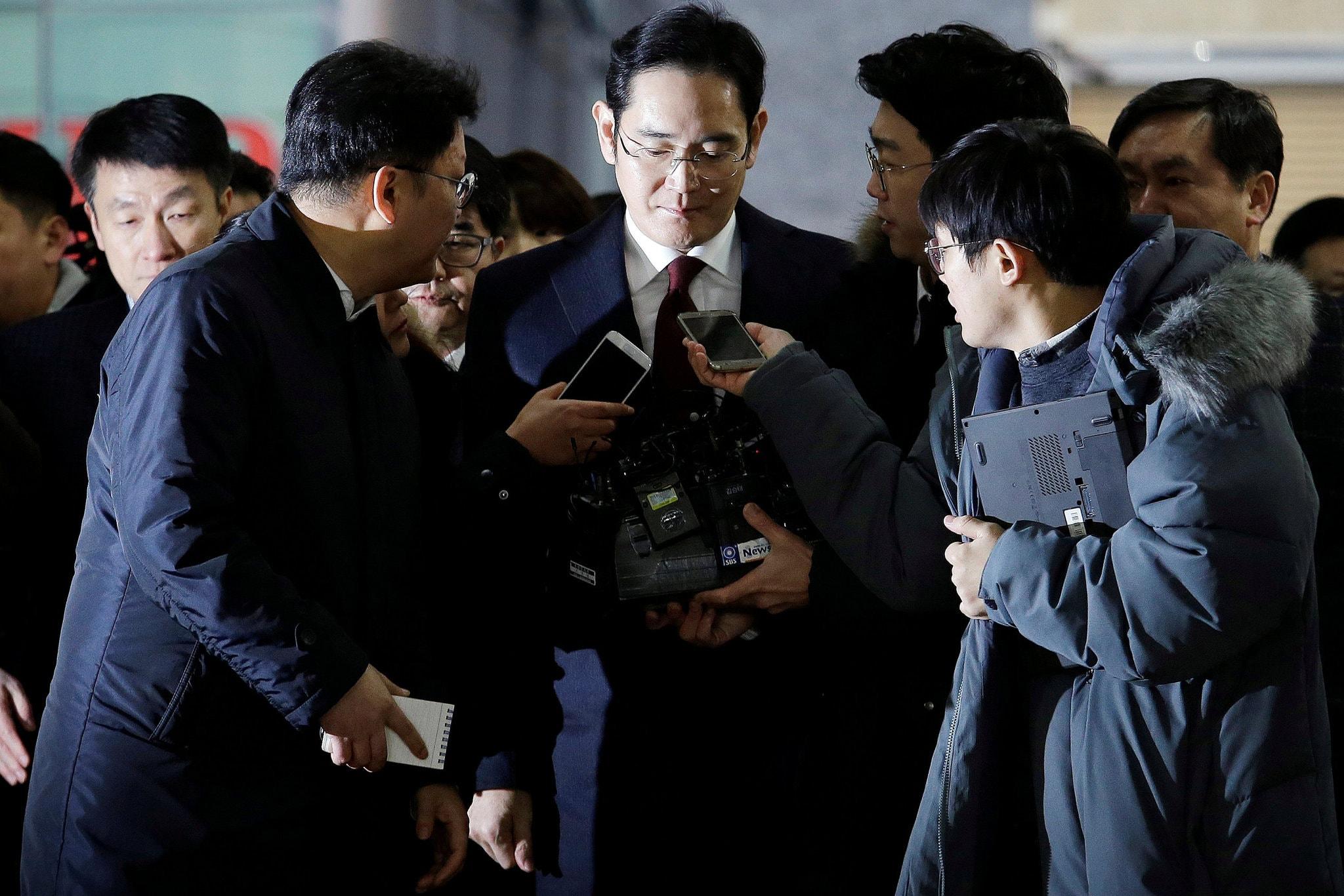 Phó Chủ tịch Samsung Electronics Lee Jae-yong đang trong thời gian chờ phán quyết của Tòa án tối cao.