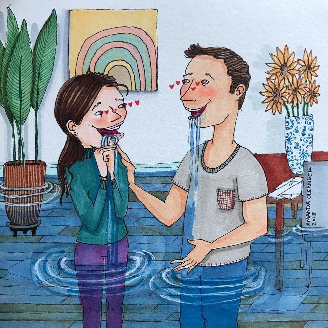 Họa sĩ minh họa đương đại Amanda Oleander - 04