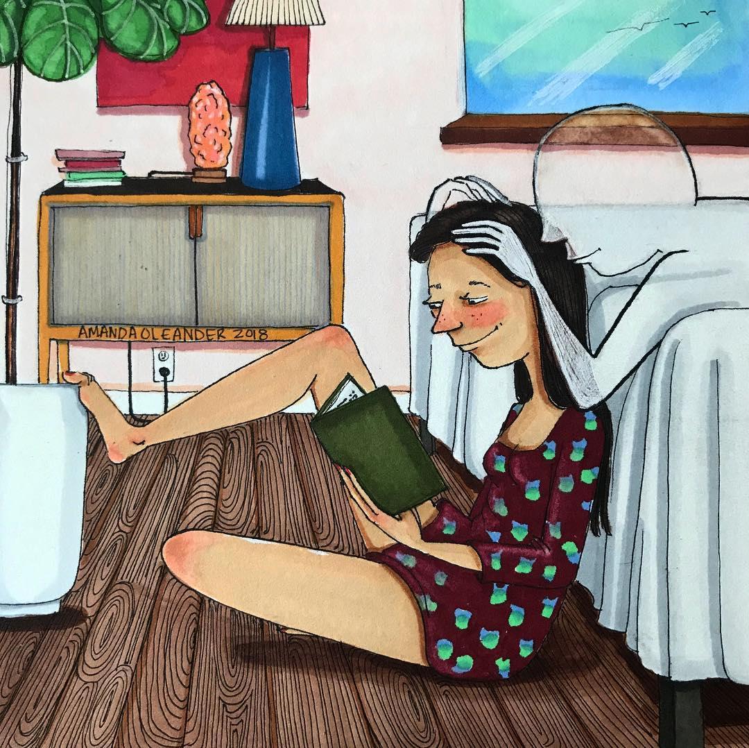 Họa sĩ minh họa đương đại Amanda Oleander - 09