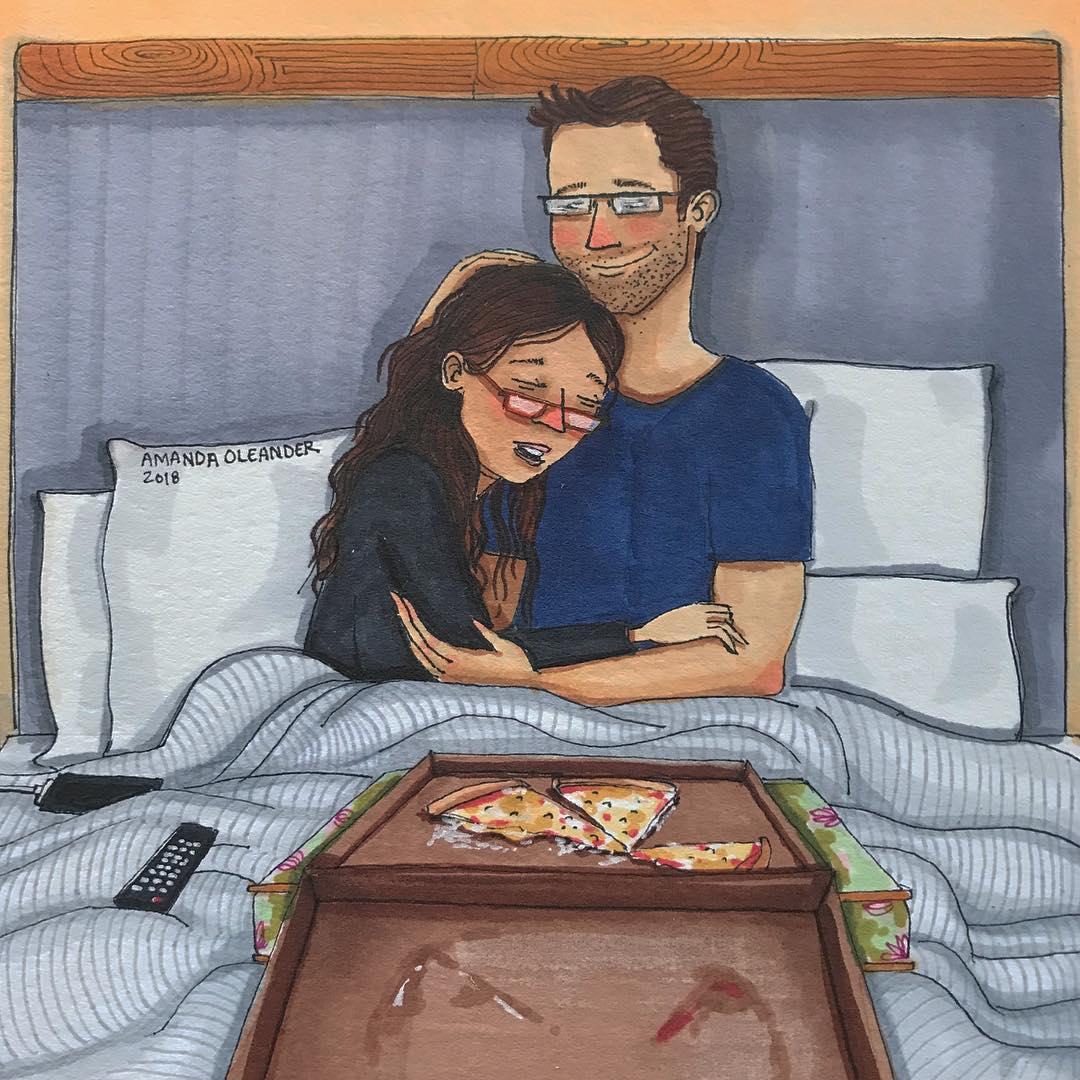 Họa sĩ minh họa đương đại Amanda Oleander - 14