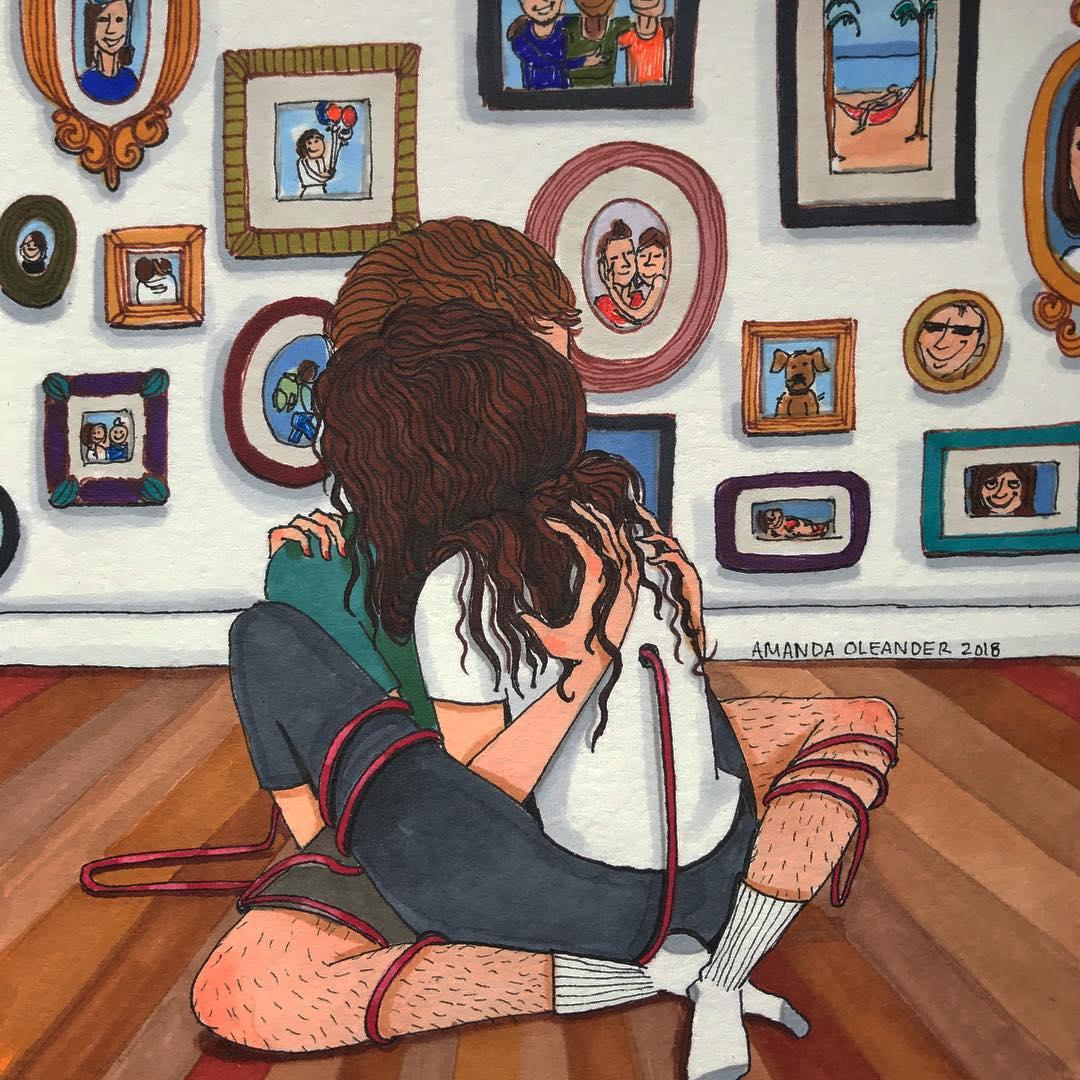 Họa sĩ minh họa đương đại Amanda Oleander - 15