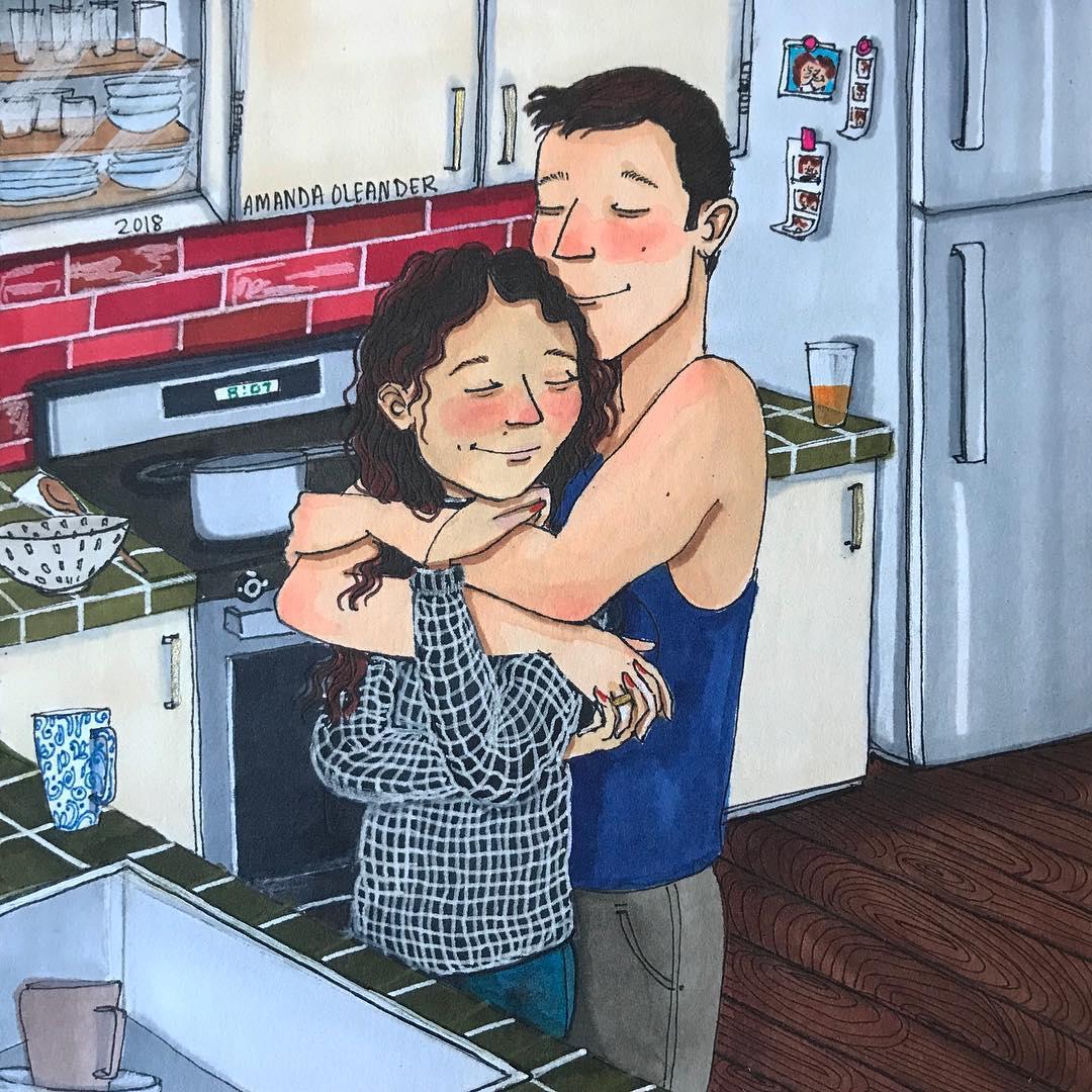 Họa sĩ minh họa đương đại Amanda Oleander - 18