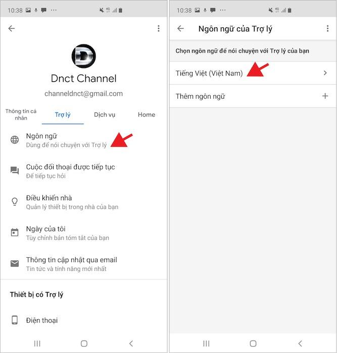Hướng dẫn sử dụng trợ lý ảo Google bằng tiếng Việt trên Android - 3