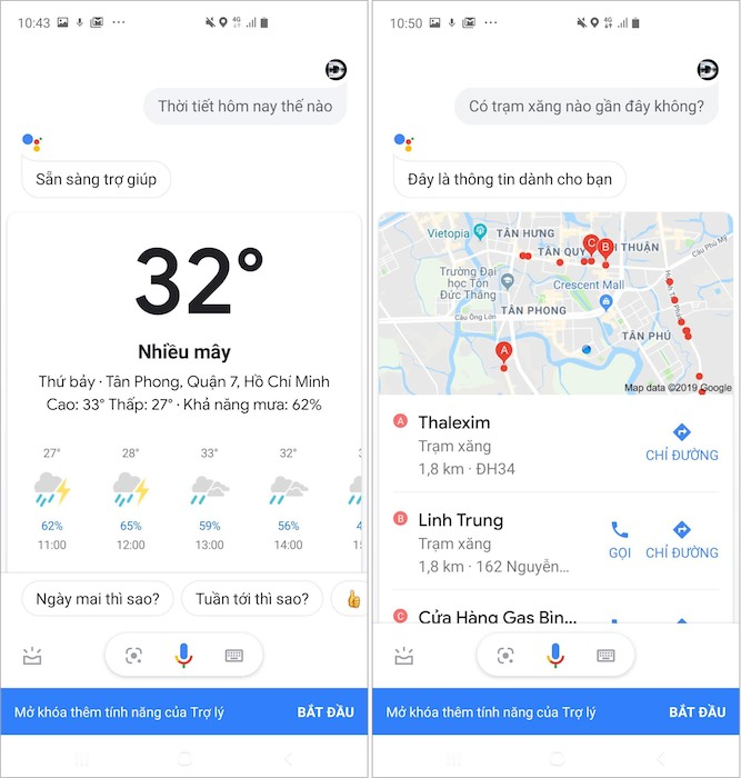 Hướng dẫn sử dụng trợ lý ảo Google bằng tiếng Việt trên Android - 6