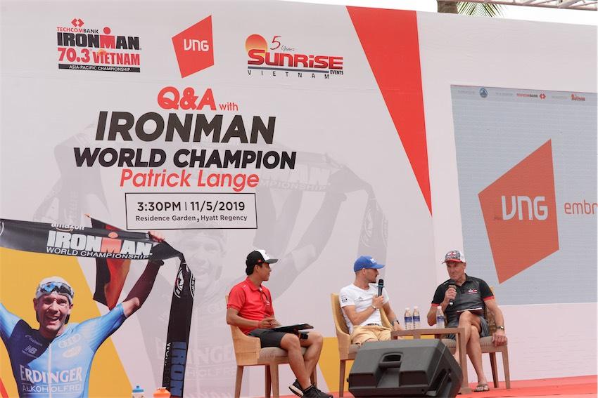 Partrick Langie - VĐV vĩ đại nhất lịch sử IRONMAN trong 40 năm hào hứng đến tham gia giải Techcombank IRONMAN 70.3 Vô Địch Châu Á Thái Bình Dương năm 2019.