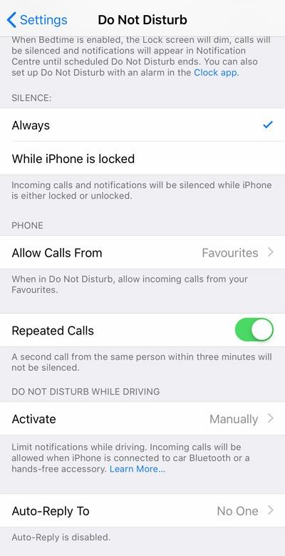 Hướng dẫn cách bật và sử dụng Không làm phiền trên iPhone / iPad của bạn - 3