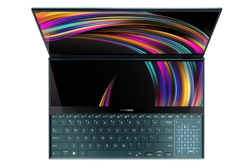 ASUS trình làng ZenBook Pro Duo (UX581) với ScreenPad Plus 2