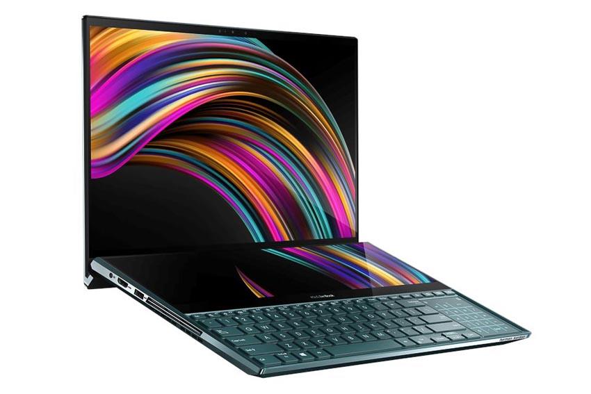 ASUS trình làng ZenBook Pro Duo (UX581) với ScreenPad Plus 3