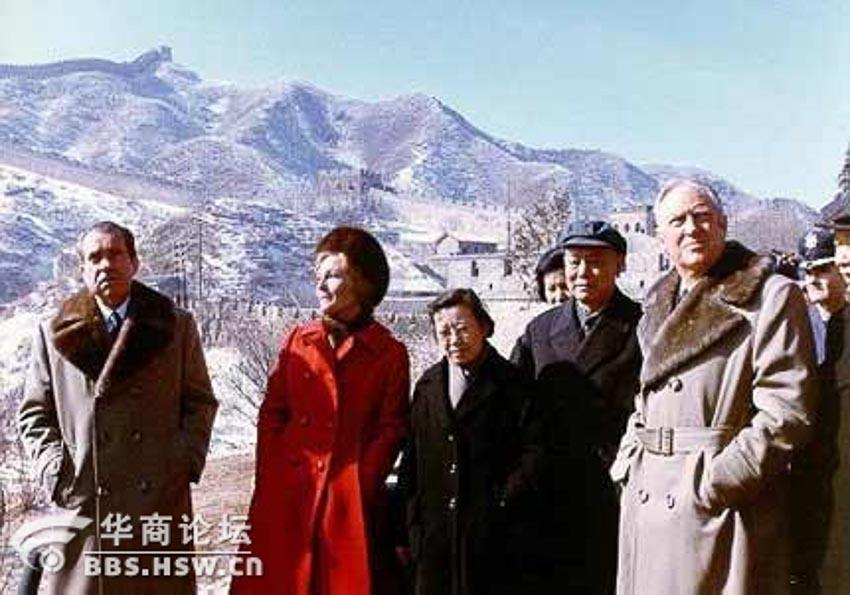 Tổng thống Nixon và phu nhân thăm Trung Quốc tháng 2.1972