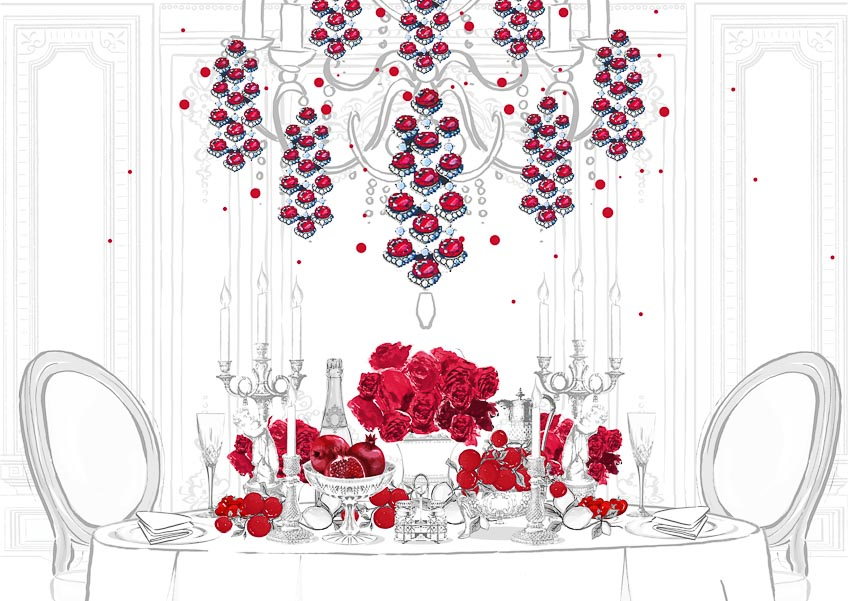 Bộ sưu tập Red Carpet 2019 LOVE 4