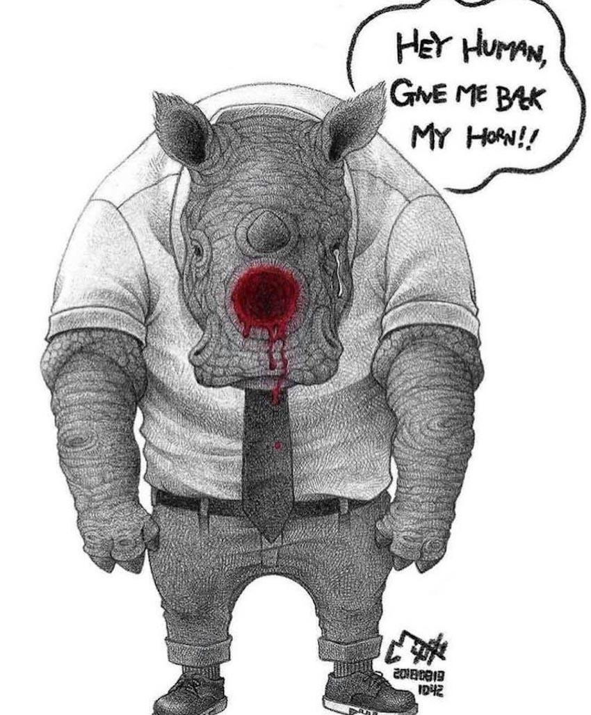 Bộ tranh xúc động: Động vật sẽ nói gì nếu trò chuyện với con người? 11