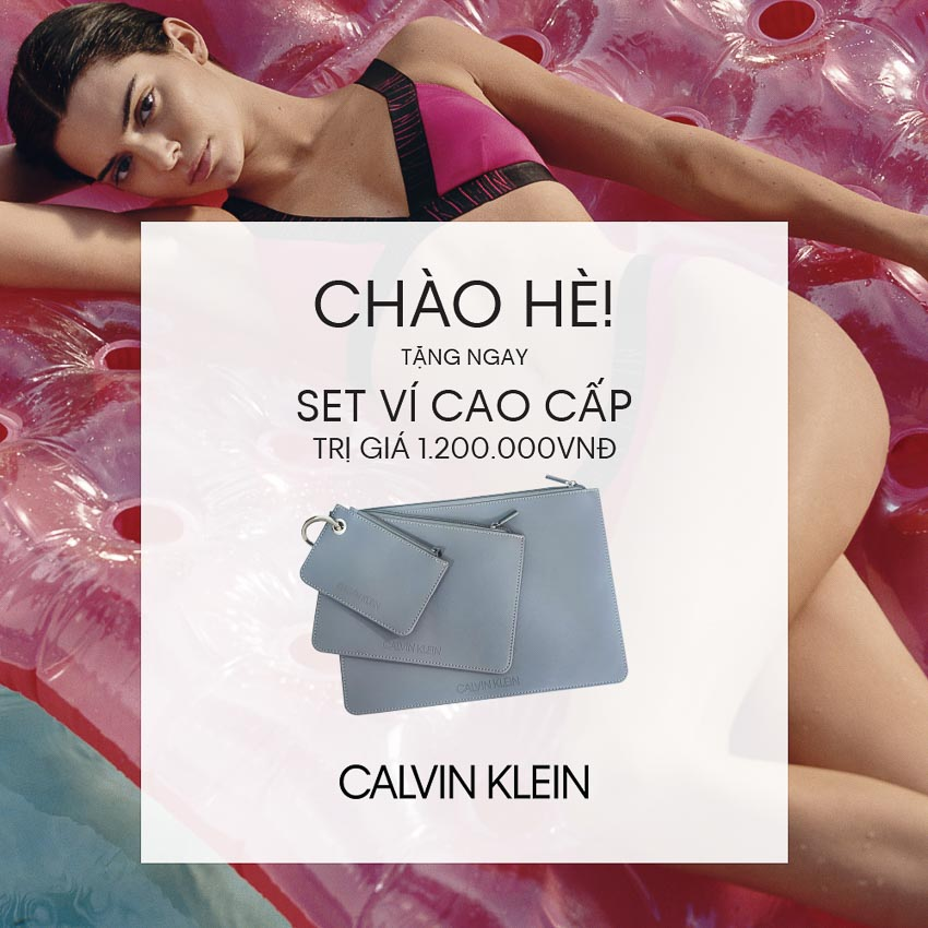 Calvin Klein chào hè 2019 rực rỡ! 12