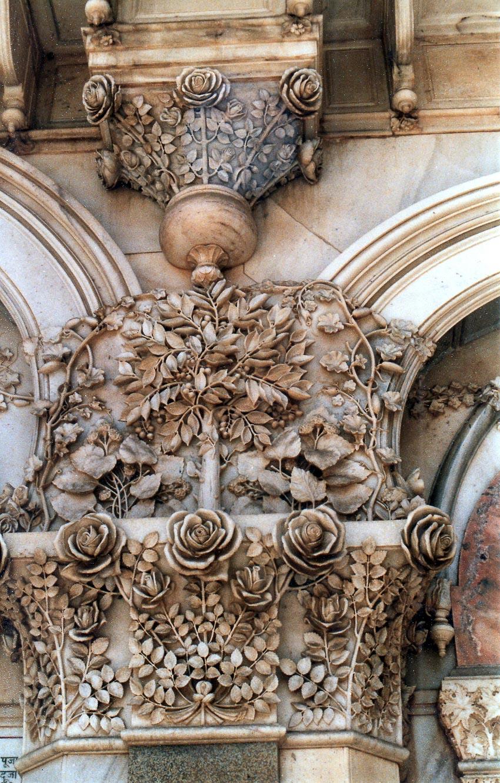 Điêu khắc đá cẩm thạch Agra 12