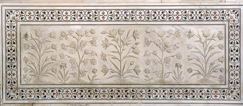 Điêu khắc đá cẩm thạch Agra 14