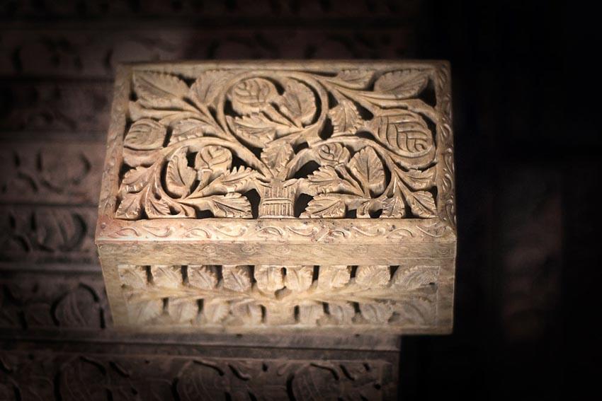 Điêu khắc đá cẩm thạch Agra 3