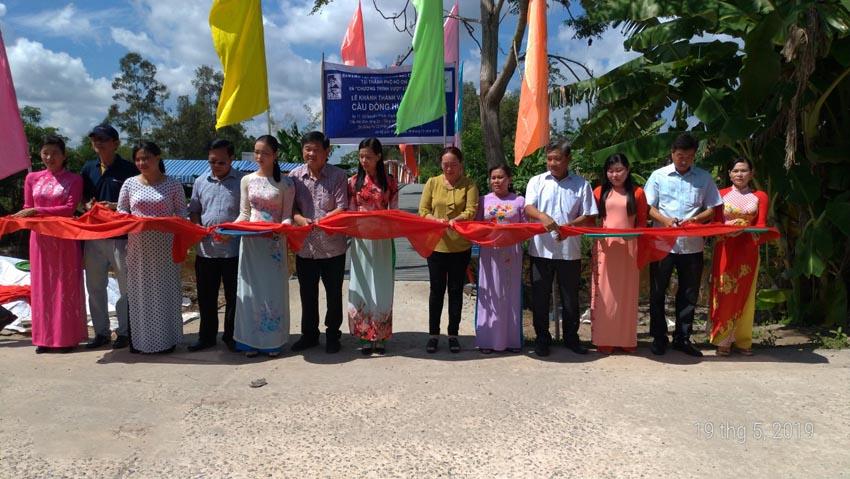 Du Lịch Hoàn Mỹ tặng cầu giao thông nông thôn cho huyện U Minh 3