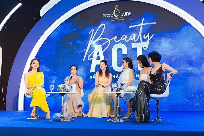 """Hệ thống Thẩm mỹ viện Ngọc Dung khởi xướng chiến dịch """"Beauty Act - Sắc đẹp hành động"""", lan tỏa cảm hứng làm đẹp chủ động cho phụ nữ Việt hiện đại 2"""