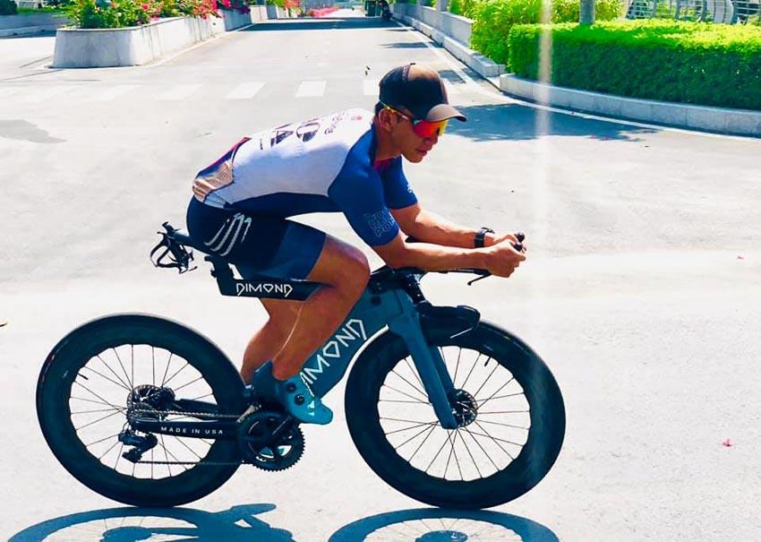 Ông Peter Nguyen, một doanh nhân tâm huyết cho các hoạt động phát triển cộng đồng thể thao Ba Môn Phối Hợp: Bơi, đạp chạy
