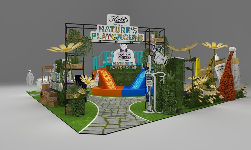 Kiehl's ra mắt công viên trong nhà Nature's Playground tại TTTM Saigon Center 4