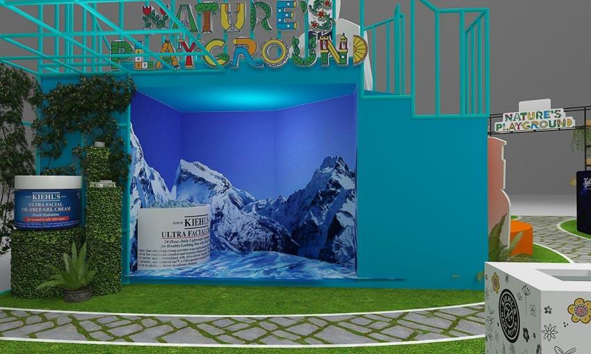 Kiehl's ra mắt công viên trong nhà Nature's Playground tại TTTM Saigon Center 3