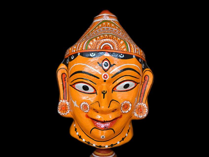 Mặt nạ nữ thần Hindu