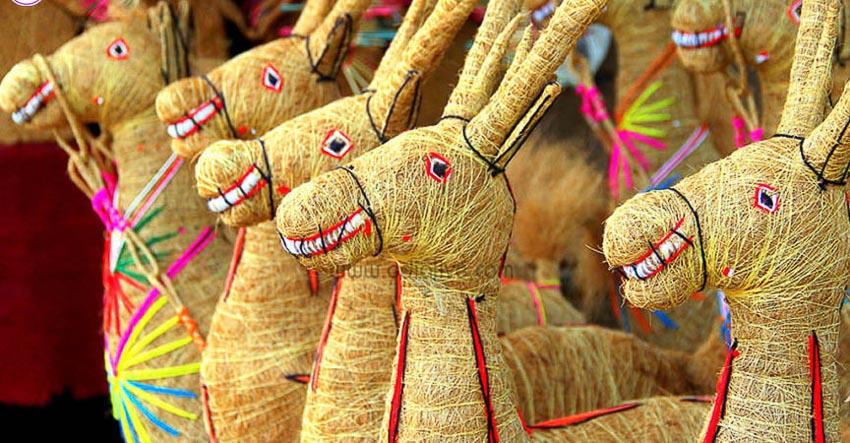 Nghệ phẩm xơ dừa Orissa 7