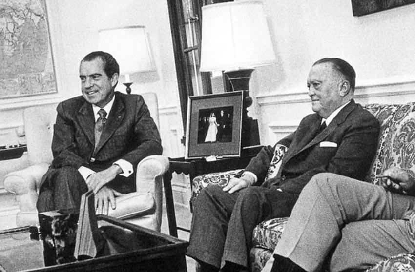 Những chuyện bí mật chưa kể về Richard Nixon 1