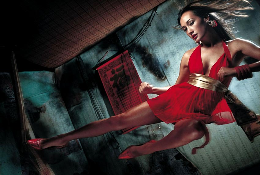 Maggie Q trong phim The King of Fighters (2009)