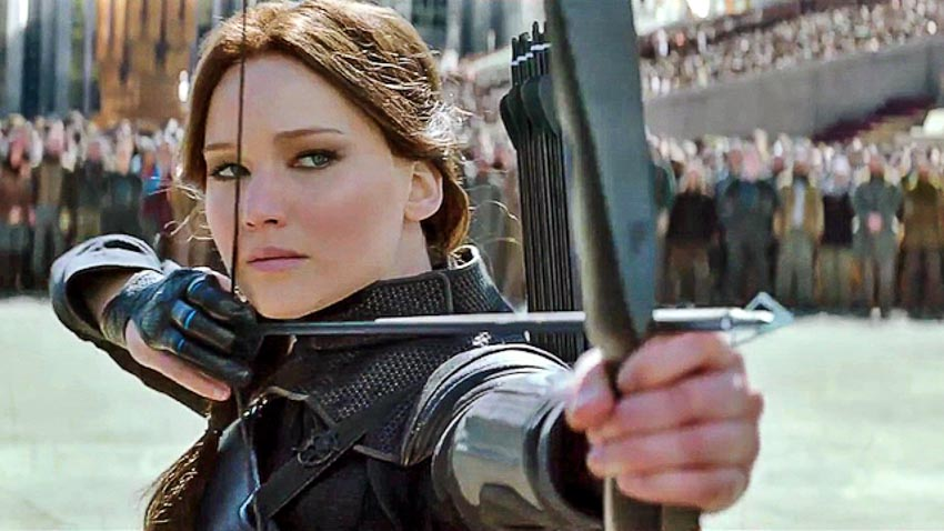 Jennifer Lawrence trong Hunger Games: Mockingjay, part 2 (2015)