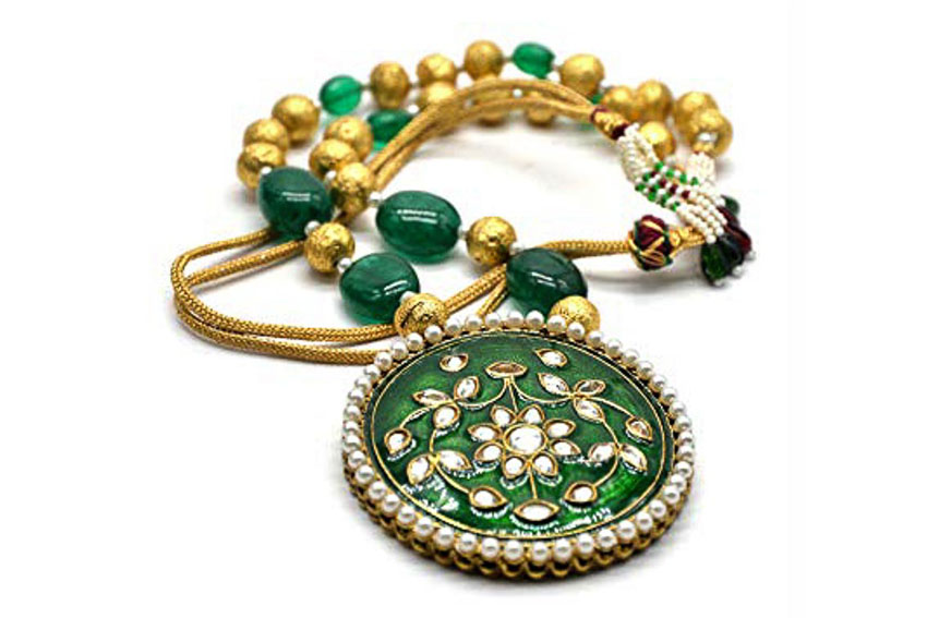 Nữ trang Kundan-Meena truyền thống của Ấn Độ 1