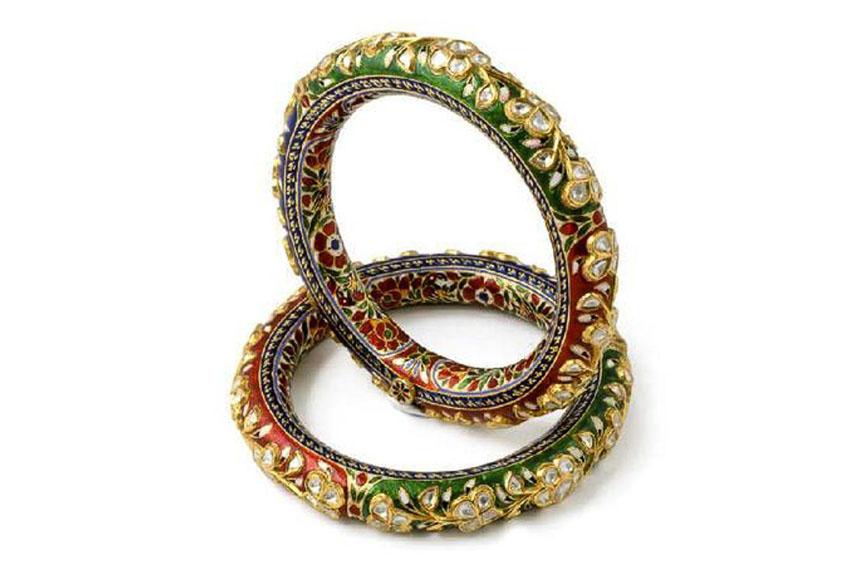 Nữ trang Kundan-Meena truyền thống của Ấn Độ 4