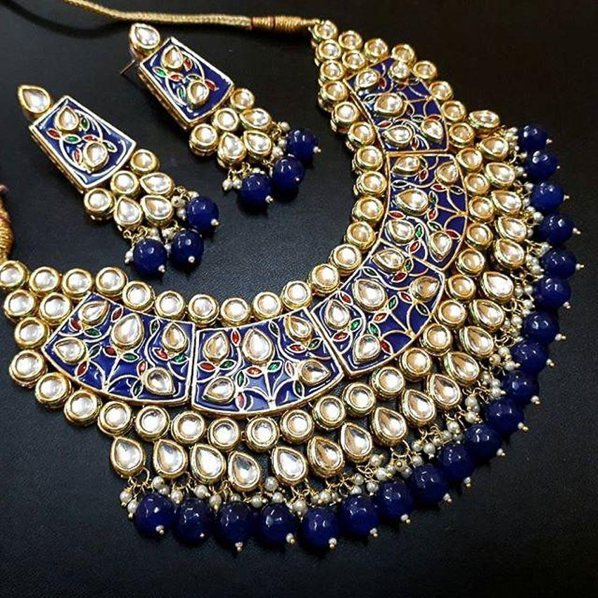 Nữ trang Kundan-Meena truyền thống của Ấn Độ 3