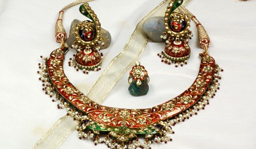 Nữ trang Kundan-Meena truyền thống của Ấn Độ 12