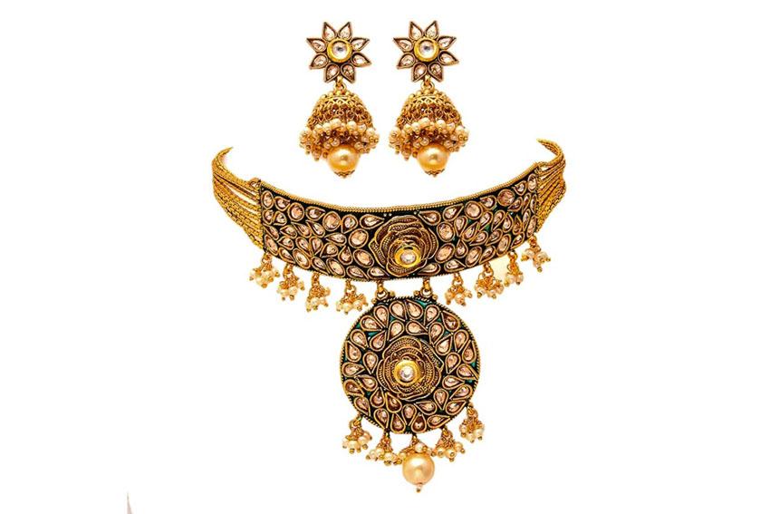Nữ trang Kundan-Meena truyền thống của Ấn Độ 7