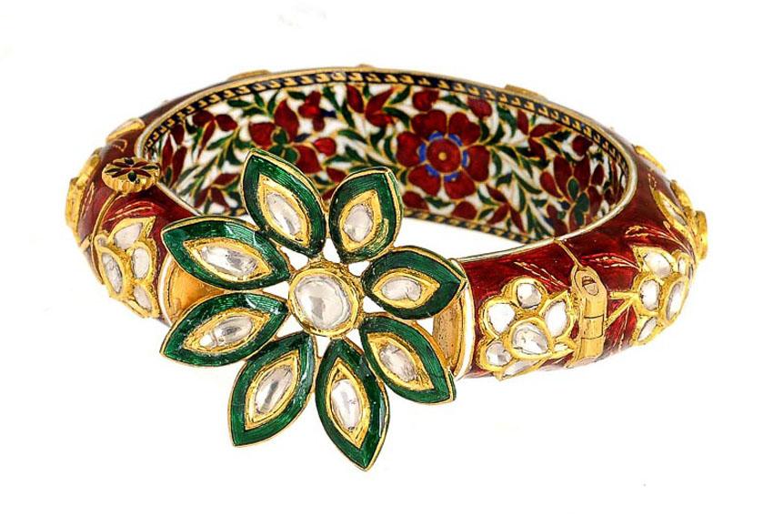 Nữ trang Kundan-Meena truyền thống của Ấn Độ 11
