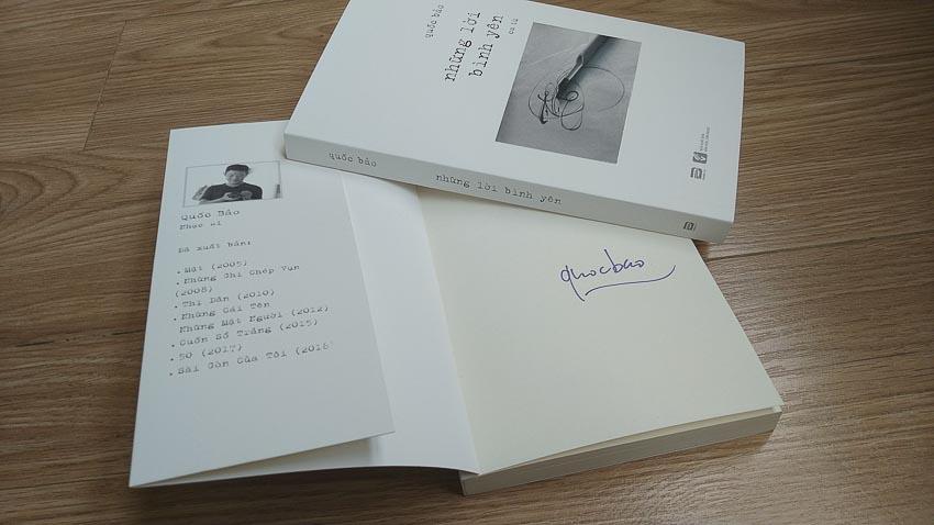 Phanbook giới thiệu Những lời bình yên 5