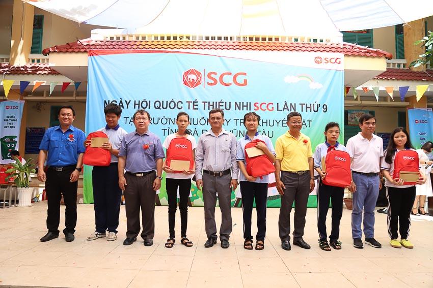 SCG hỗ trợ trẻ em khuyết tật tỉnh Bà Rịa Vũng Tàu 3
