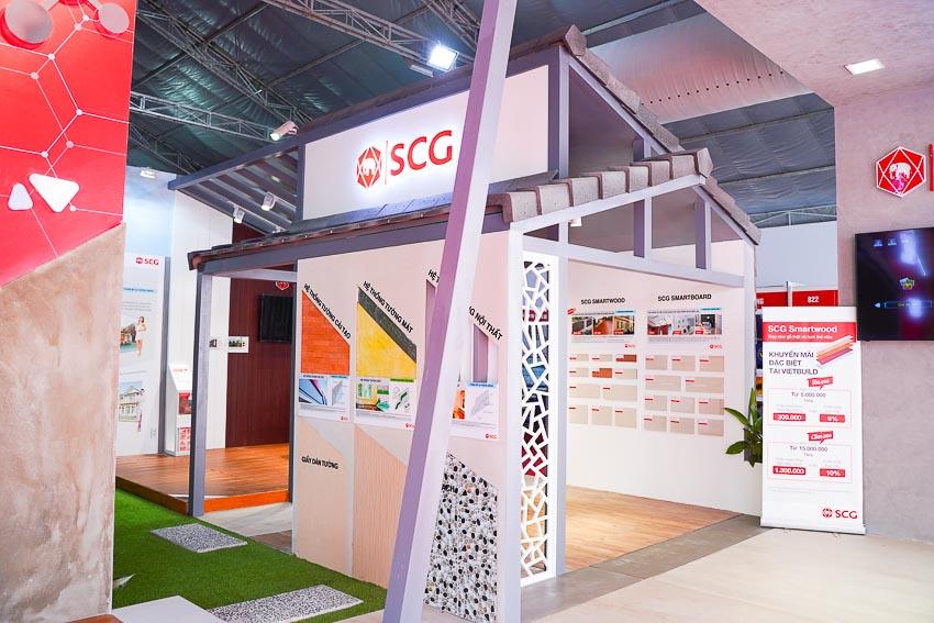 SCG trình làng sản phẩm SCG Super Xi măng với công nghệ SCG Nano tại Triển lãm Vietbuild Đà Nẵng 2019 2