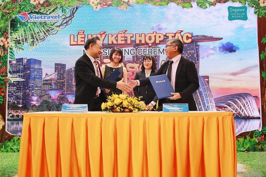 Tổng cục Du lịch Singapore và Vietravel hợp tác thu hút du khách Việt đến Singapore 1