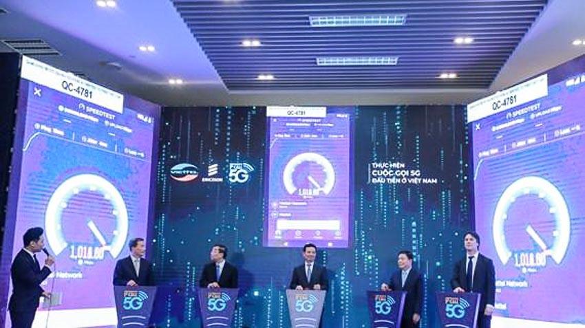Viettel sử dụng điện thoại OPPO thử nghiệm mạng 5G đầu tiên tại Việt Nam 2