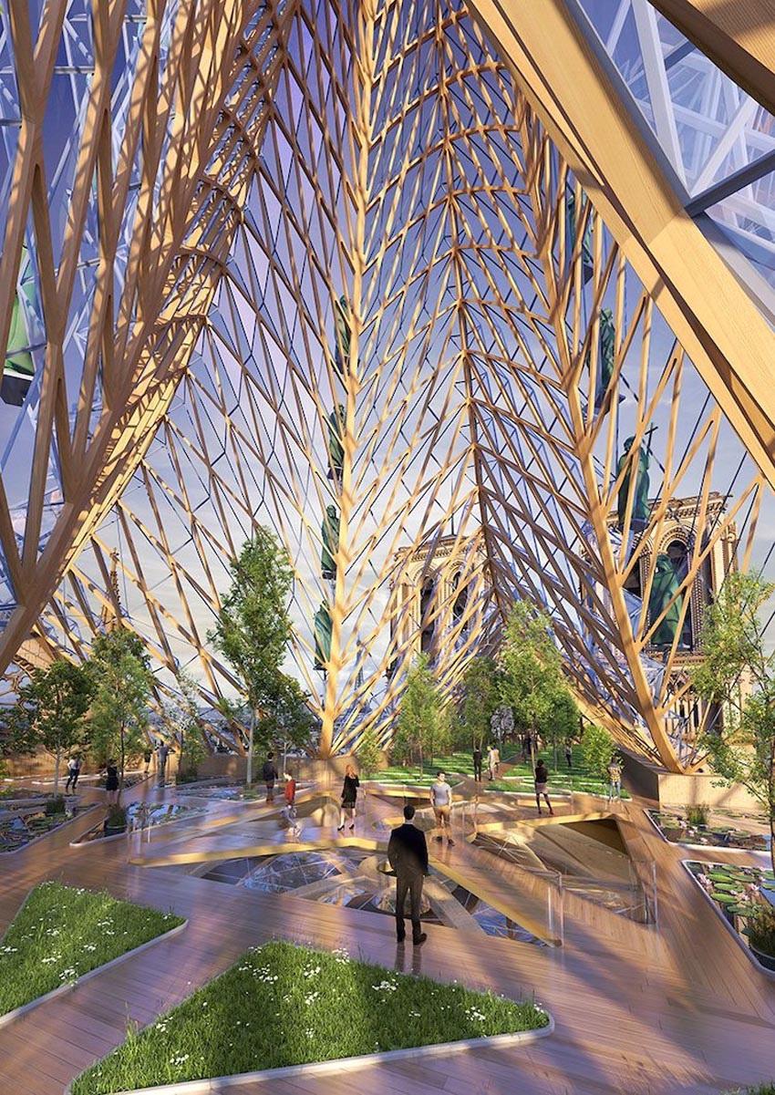 Ý tưởng cho việc xây dựng lại Nhà thờ Đức Bà Paris 2