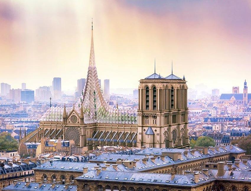 Ý tưởng cho việc xây dựng lại Nhà thờ Đức Bà Paris 3