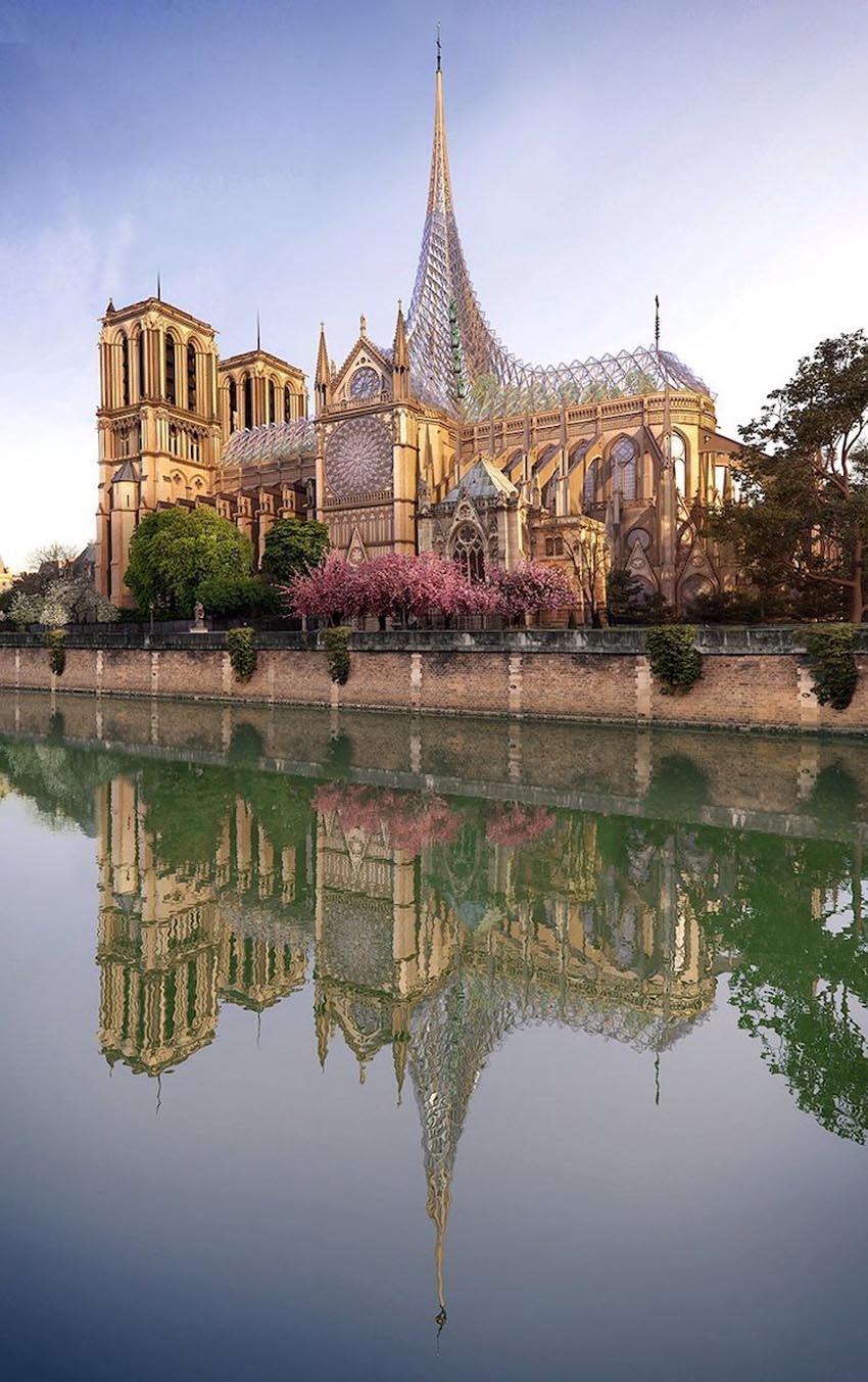 Ý tưởng cho việc xây dựng lại Nhà thờ Đức Bà Paris 4