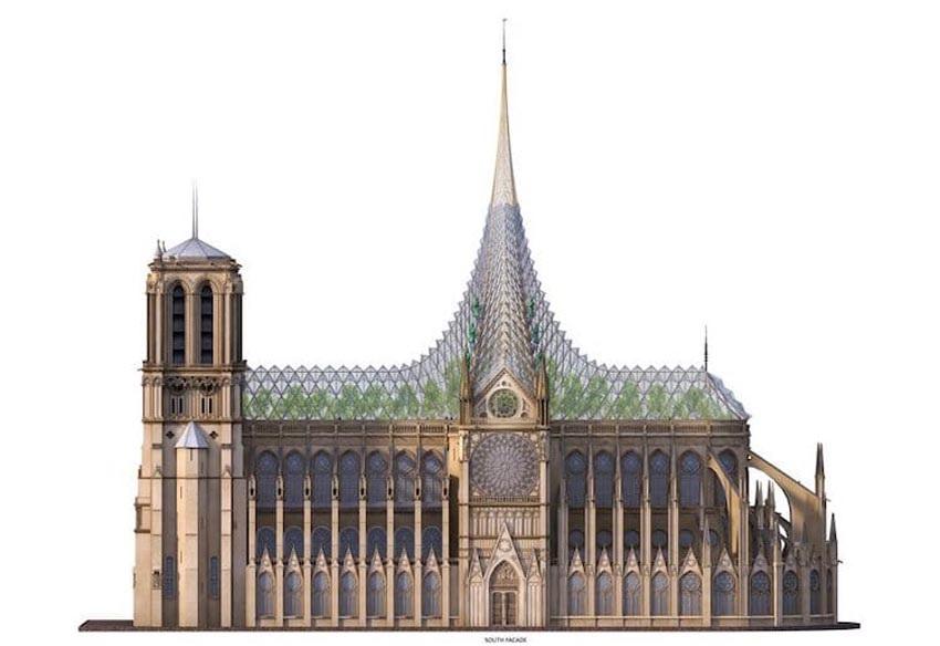 Ý tưởng cho việc xây dựng lại Nhà thờ Đức Bà Paris 5