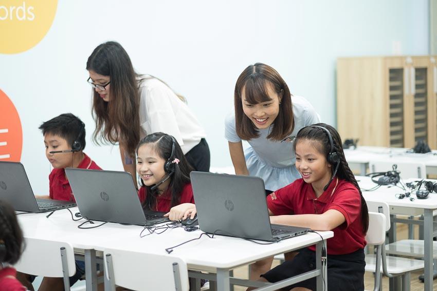 Trải nghiệm Imagine Learning English tại các cơ sở của VUS