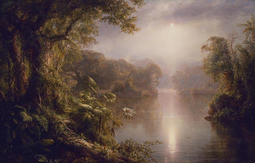 Dòng sông ánh sáng của Frederic Edwin Church