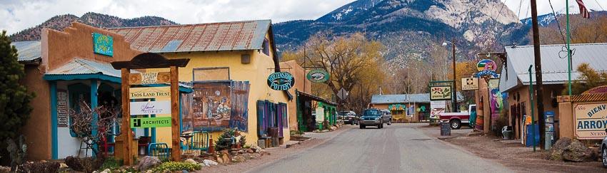 thành phố Taos bang New Mexico 1