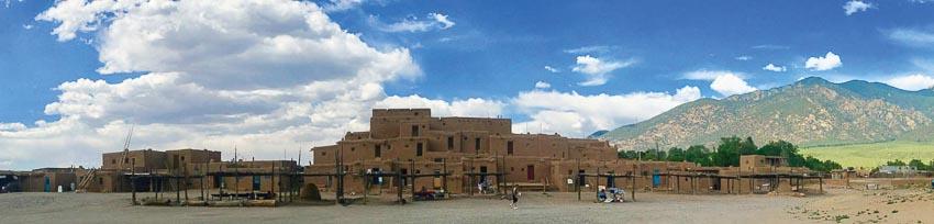 thành phố Taos bang New Mexico 10